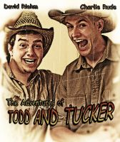TODD AND TUCKER Old Postcard by viletaste