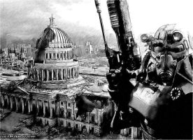 Fallout 3 Sketch by EP2