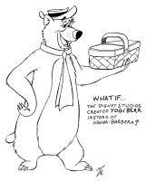 What If Yogi Bear was created at Disney by zombiegoon