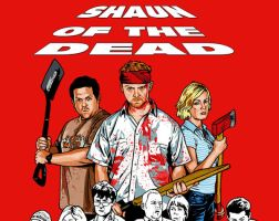 SHAUN OF THE DEAD HALVED by MalevolentNate