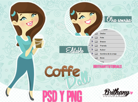 Coffe doll by Brithanytutorials by Brithanytutorials