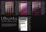 Ubuntu with mobile Unity by ginjaninja405