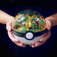 Dragonite Garden - Poke Ball Terrarium by TheVintageRealm