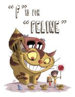 F Is For Feline by OtisFrampton