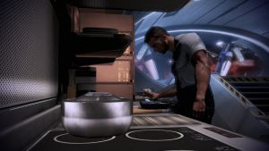 Vega Cooking - Mass Effect 3 by loraine95