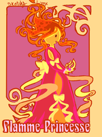 Flamme Princesse by BlackLynx-chan