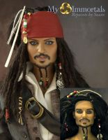Captain Jack Sparrow by my-immortals