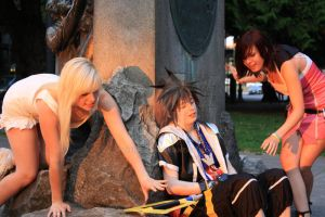 Kcon11: Kingdom Hearts Photoshoot by PaperRoxas