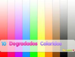 10 Degradados Coloridos by MizDecoradoraGrafica