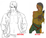 Before and Afters aren't always Pretty by NijixSmallGrey