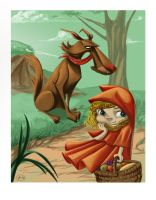 Little Red Riding Hood by SuperJean83