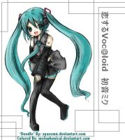 Hatsune Miku by MeLoPhOnIcAl