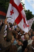 Georgian people....protest by edips