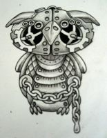 Steam punk Owl Bold by Tattoo-Design