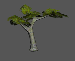 Superlowpoly tree by WulfTheWolf