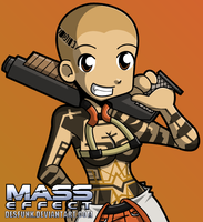 Mass Effect Jack by desfunk