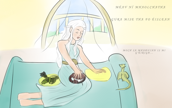 Khaleesi's Lullaby by LuckyDragonfly