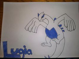 Lugia by HexyLovesforever