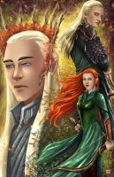 Mirkwood Elves by TyrineCarver