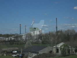 Papermill by canona2200