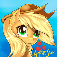 Applejack by AC-whiteraven