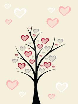 Hearts Tree by Proudmoon