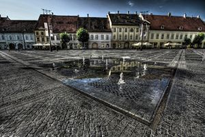 Sibiu main square by FriendlyPiranha