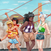 RWBY Summer Contest: Amusement Park Time! by Sogequeen2550