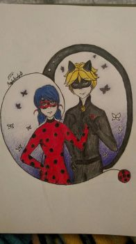 Miraculous Duo  by MaybeBirdy