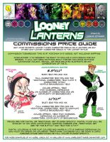 Looney Lanterns Commission Sheet by CharlesEttinger