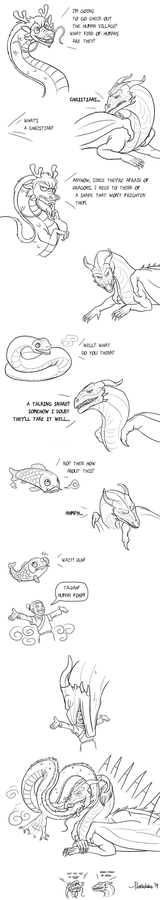 Some Dragon Comic