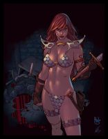 Red Sonja by EagleGosselin