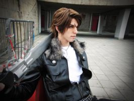 Squall Final Fantasy VIII #5 by DarkyLeon