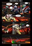 DU: HEROES UNITED PAGE 3-3 by VexusVersion