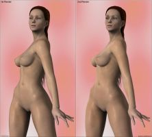 Susan - SSS (AoA) - compare 1st and 2nd settings by Sedorrr