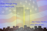 9-11 Tribute by kingminigunner