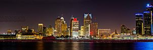Detroit Lights by JeffreyDobbs