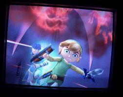 Run, toon Link.. RUN by lewisrockets
