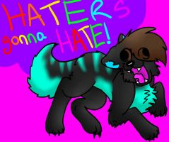 Haters Gonna Hate Me! by iW-O-L-F