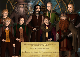 The Fellowship of the Ring by MonsieurArtiste