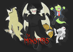 The Monsters by OutLeaf