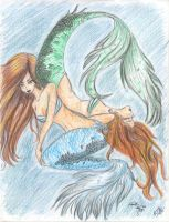 Colab - Mermaids by Shalie