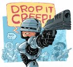 RoboCop Sketch by DerekHunter