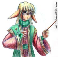 Colour Pencil - Mink Scribe by bluphino
