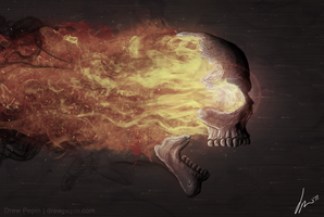 In Flames by DrewPepin