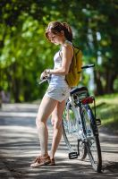 Biking 3 by JackDunn