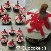 Bloody Cupcakes by Cupcake-SmileyFace