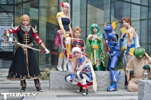 Final Fantasy I-VI Round Up (MCM 2012 Oct) by Peridotfairy