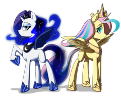 Lunarity and Celeshy by TheYoungReaper