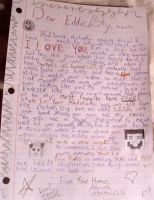 My Letter To Sly :) by Petpettails123